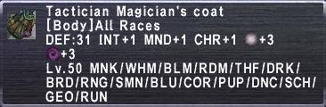 Tactician Magician's Coat