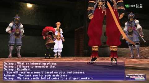 Aht Urhgan Mission 12: Royal Puppeteer/Plot Details