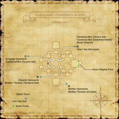 Nyzul Isle Staging Point Map