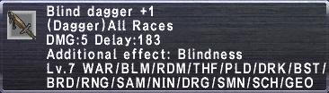 Blind Dagger Plus 1