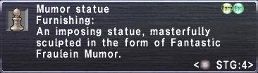 Mumor Statue