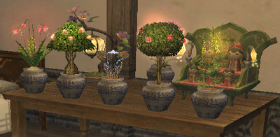 Plants as Furniture