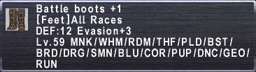 Battle Boots +1