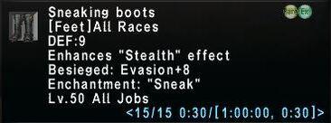 SneakingBoots