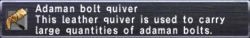 Adaman Bolt Quiver
