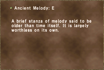 Ancient Melody E