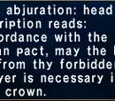 Aquarian Abjuration: Head
