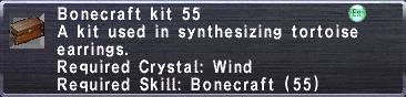 Bonecraft Kit 55