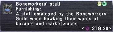 Boneworkers Stall