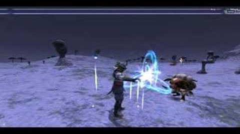 FFXI Blue Mage spell Sandspin