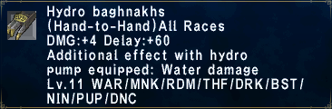 Hydro Baghnakhs