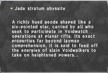 Jade stratum abyssite