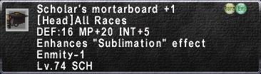 Scholar Mortarboard 1
