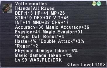 Volte Moufles