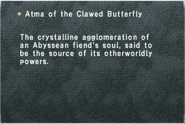 Atma of the Clawed Butterfly