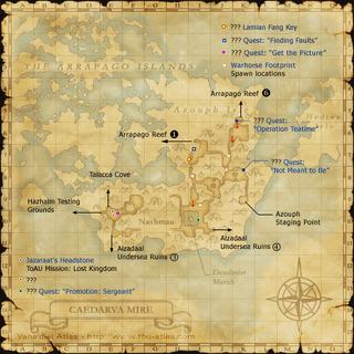 Caedarva Mire Map 1