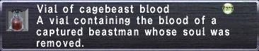 Cagebeast Blood