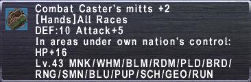 CombatCastersMitts +2