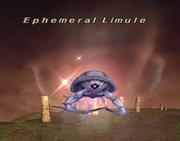 Ephemeral Limule