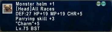 MonsterHelm +1