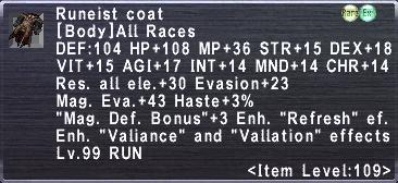 Runeist Coat