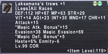 Laksamana's Trews +1
