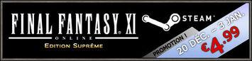 Promotion de Noël sur Steam pour FINAL FANTASY XI! (20.12.2010)