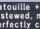 Ratatouille +1