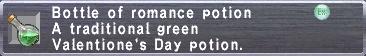 Romance potion