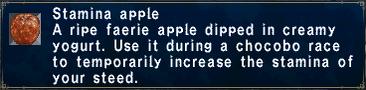 Stamina Apple