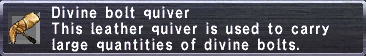 Divine Bolt Quiver