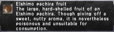 Elshimo Pachira Fruit