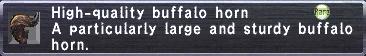 HQ Buffalo Horn