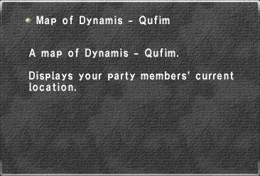 Map of Dynamis - Qufim