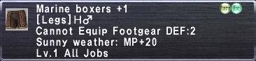 Marine Boxers Plus 1