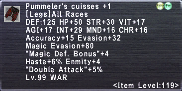 Pummeler's Cuisses +1