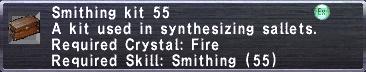 Smithing Kit 55