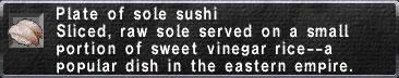 Sole-Sushi