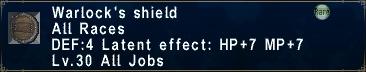 Warlock's Shield