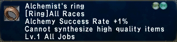 Alchemists ring