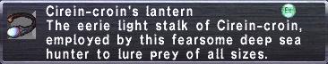 Cirein-croins lantern