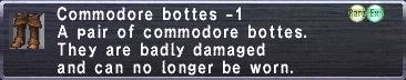 Commodore Bottes -1