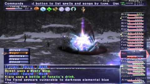 FFXI NM Saga 384 Pil (Voidwatch NM) Full Battle