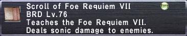 Foe Requiem VII