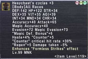 Hesychast's Cyclas +3