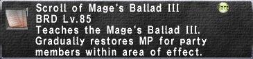 Mage's Ballad III