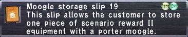 Storage Slip 19