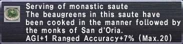 MonasticSautee