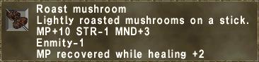 Roast mushroom