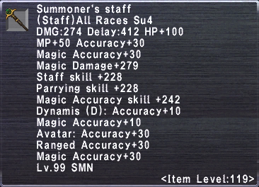 Summoner's Staff